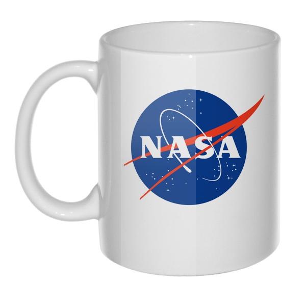 Кружка NASA, цвет белый