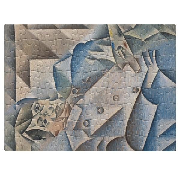 Портрет Пабло Пикассо, магнитный пазл A5