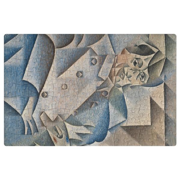 Магнитный пазл Портрет Пабло Пикассо, формат A4