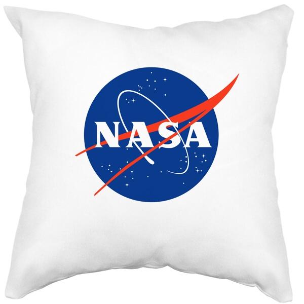 Подушка белая NASA