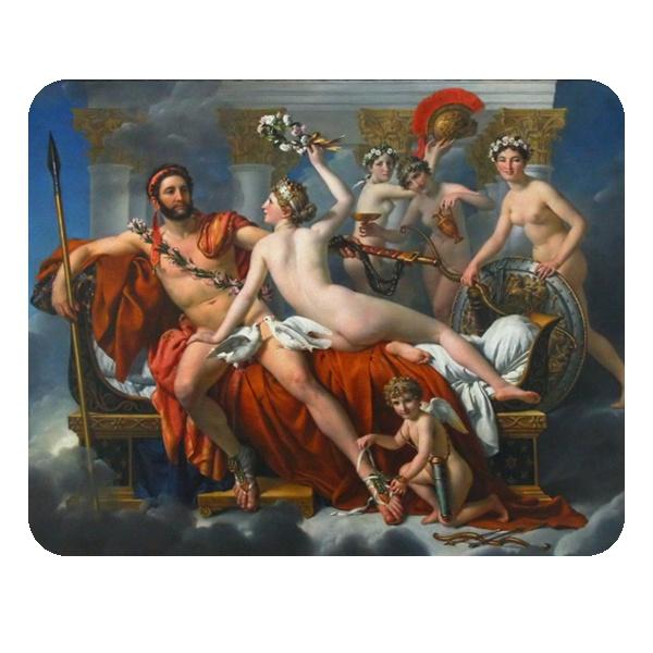 Арес и Афродита, коврик для мыши прямоугольный