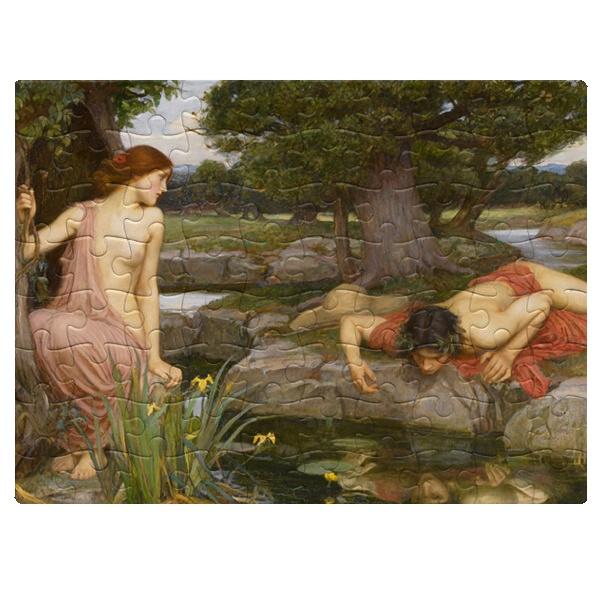Эхо и Нарцисс, магнитный пазл A5