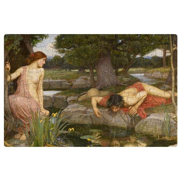 Магнитный пазл Эхо и Нарцисс, формат A4