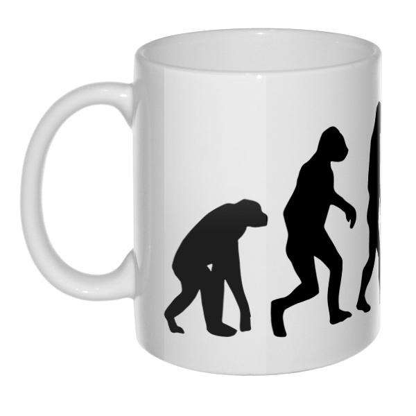 Кружка Эволюция