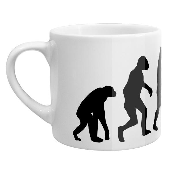 Кофейная чашка Эволюция