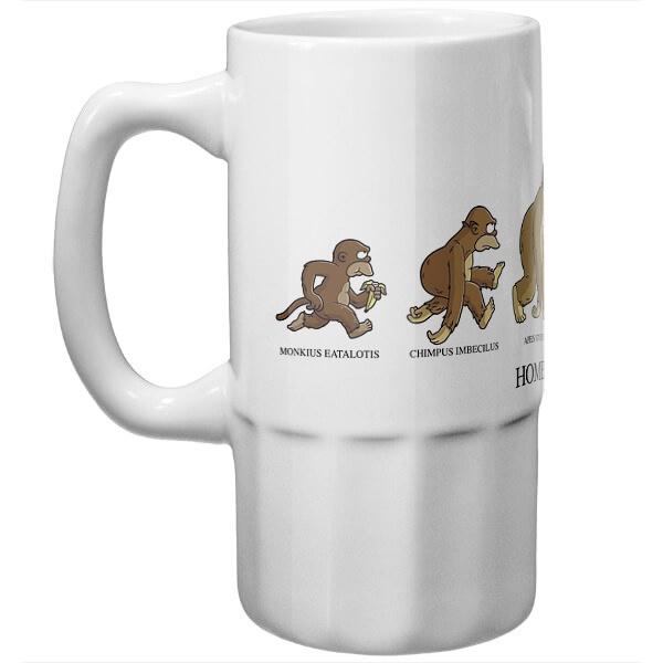 Пивная кружка Эволюция Гомера Симпсона