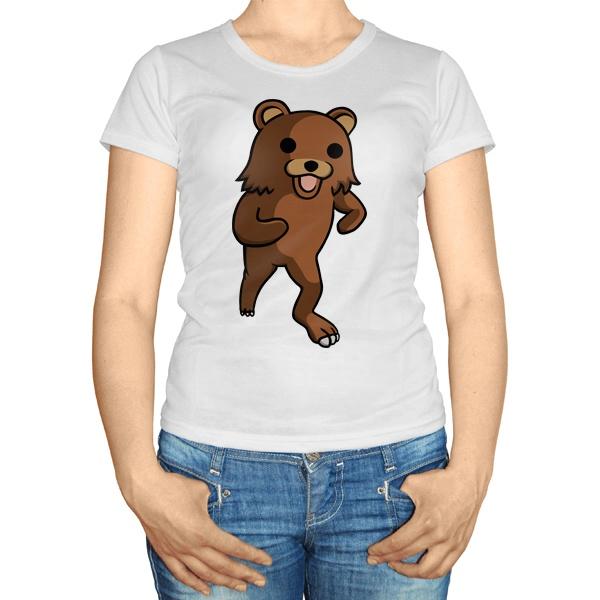 Женская футболка Педобир