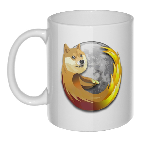 Кружка Собака Firefox