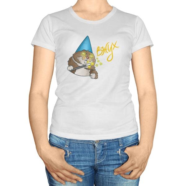 Женская футболка Вжух!