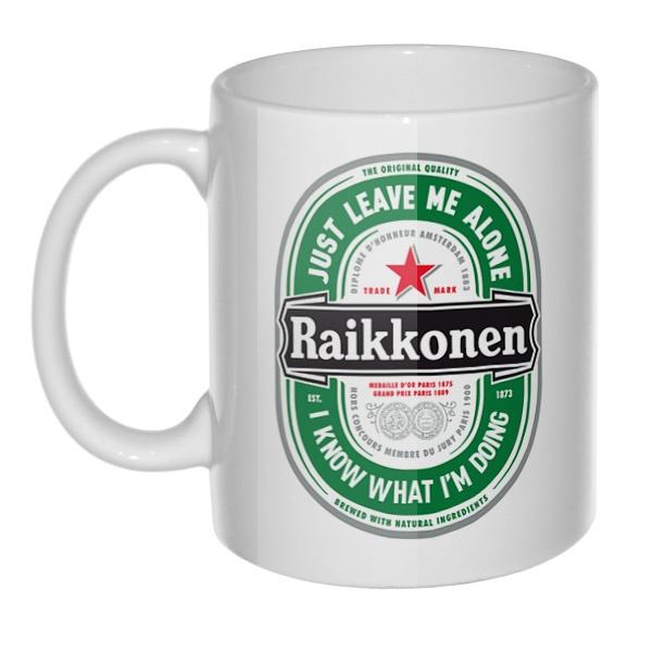 Кружка Raikkonen