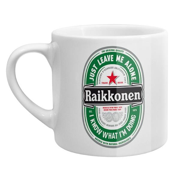 Кофейная чашка Raikkonen