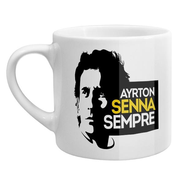 Кофейная чашка Айртон Сенна