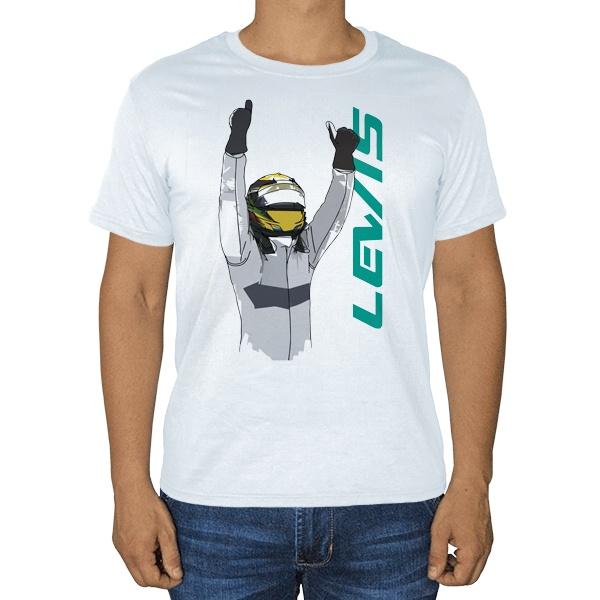 Льюис Хэмилтон, белая футболка