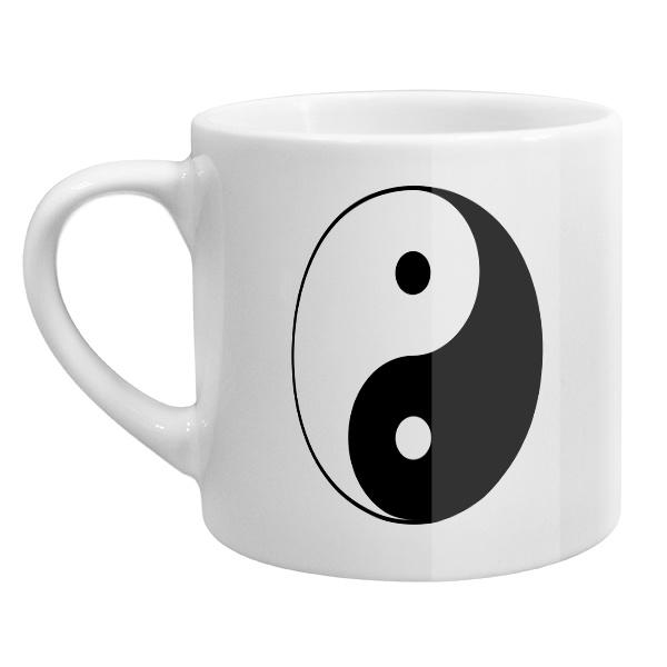 Кофейная чашка Инь Ян
