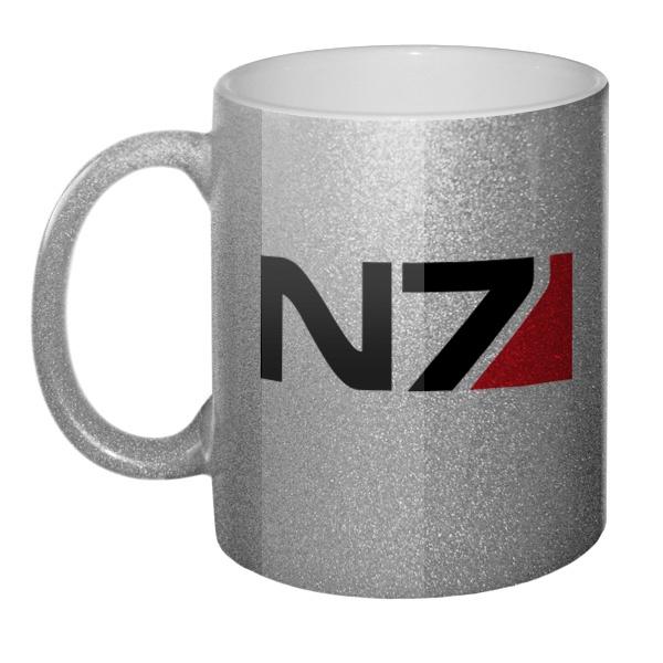 Кружка блестящая N7