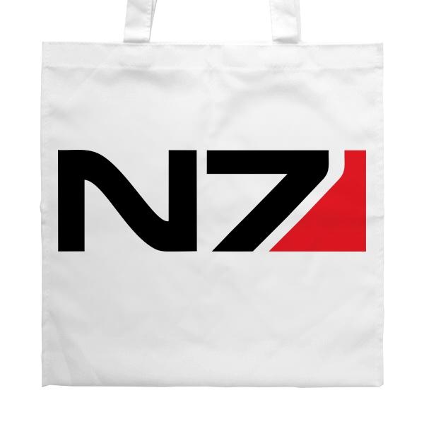 Белая сумка N7