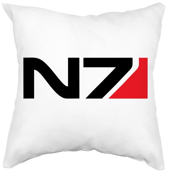 Подушка белая N7, цвет белый