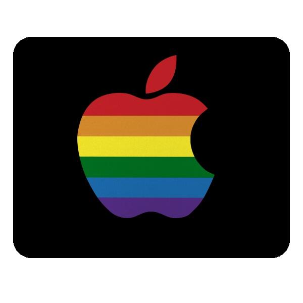 Apple Rainbow, коврик для мыши прямоугольный