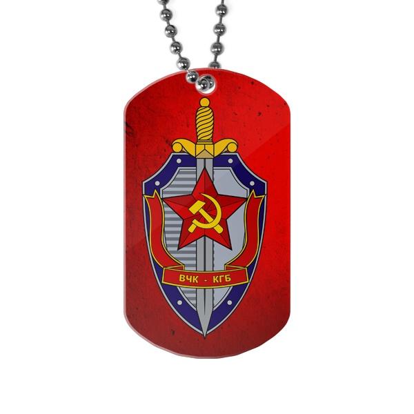 Жетон ВЧК КГБ, цвет белый