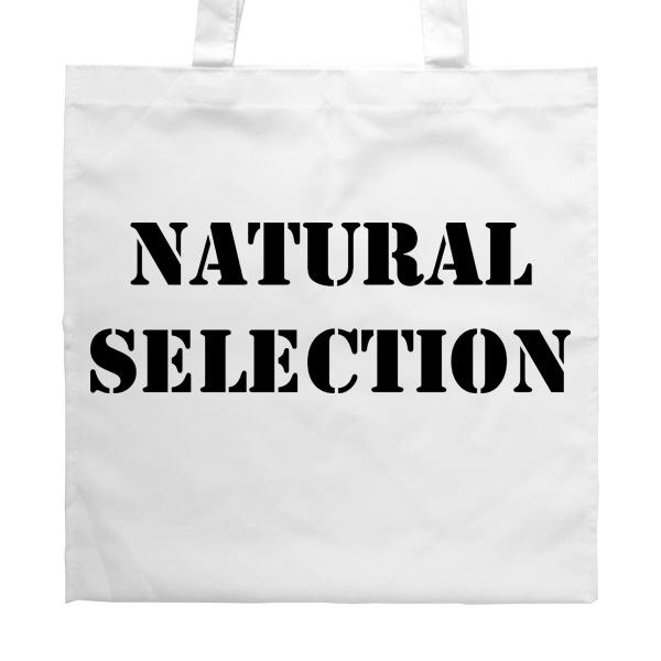 Белая сумка Natural Selection
