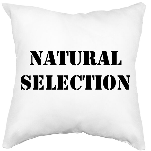 Подушка белая Natural Selection