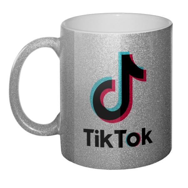 Кружка блестящая Tik Tok