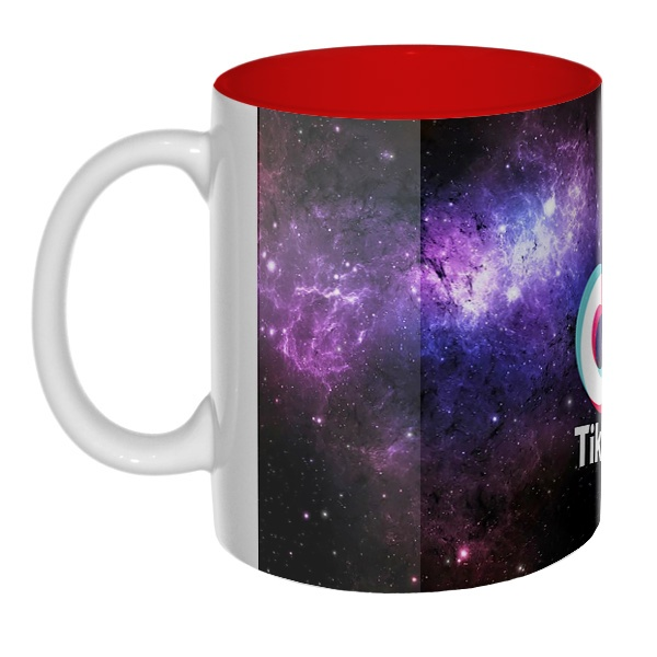 Tik Tok (космос), цветная внутри 3D-кружка