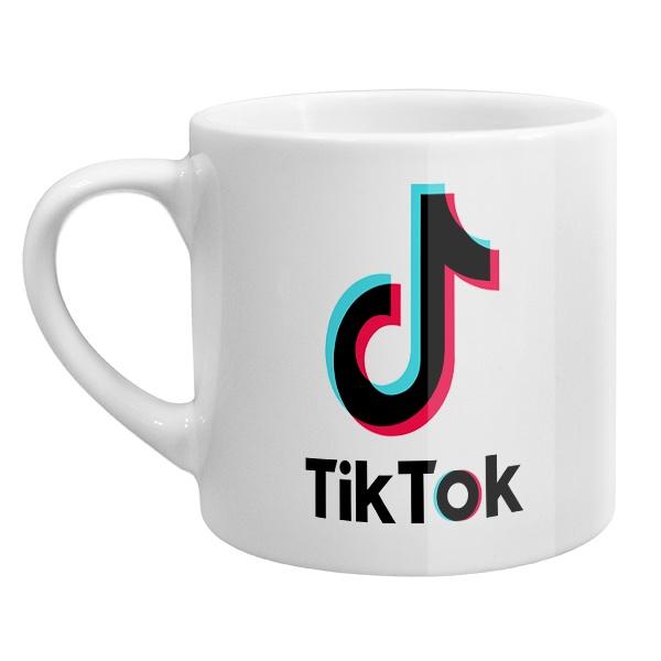 Кофейная чашка Tik Tok
