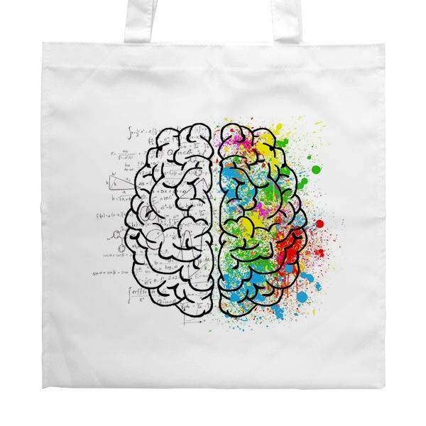 Белая сумка Полушария мозга