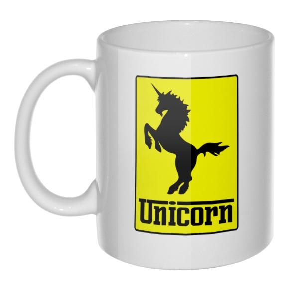 Кружка Unicorn (стилизация Ferrari)
