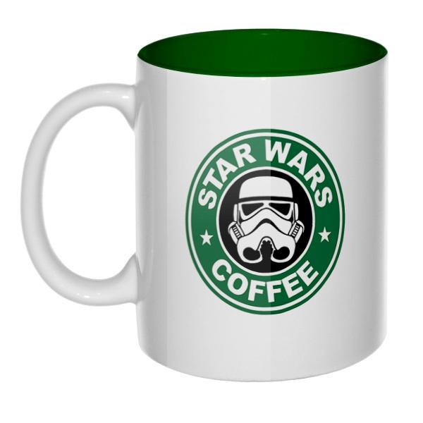 Star Wars Coffee, кружка цветная внутри