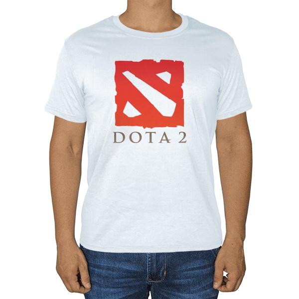 Белая футболка Dota 2