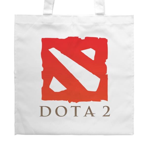 Белая сумка Dota 2, цвет белый