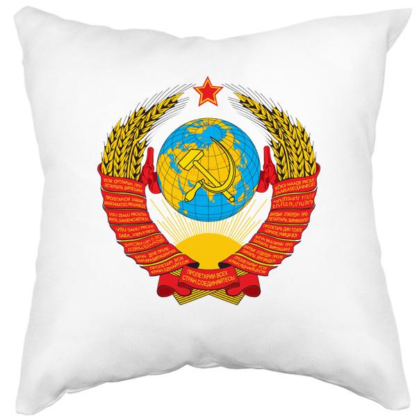Подушка с гербом СССР