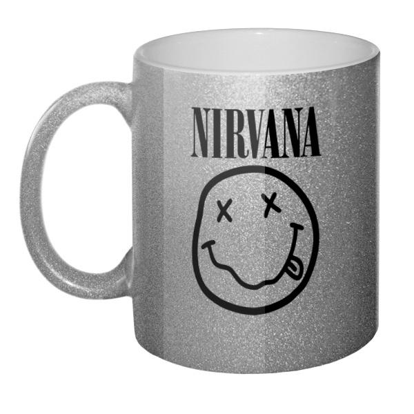 Кружка блестящая Nirvana
