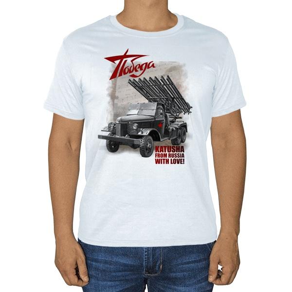 Katusha, белая футболка