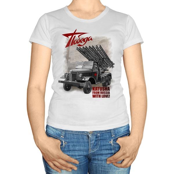 Женская футболка Katusha