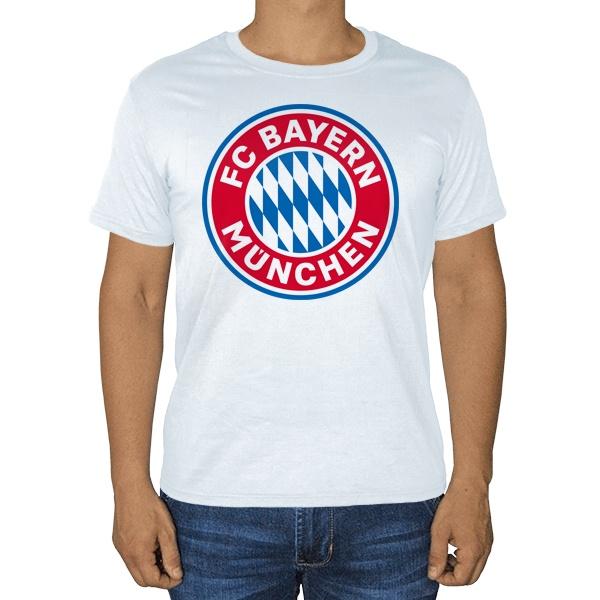 Белая футболка FC Bayern Muchen