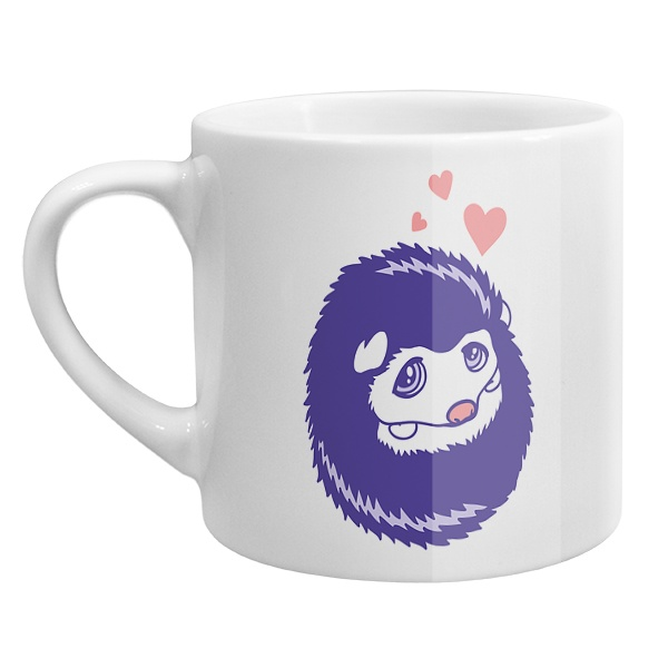 Кофейная чашка Милый ежик