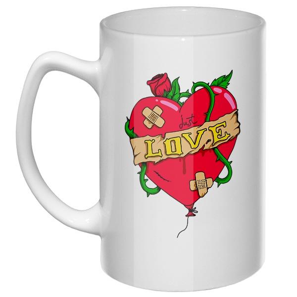 Большая кружка Just love