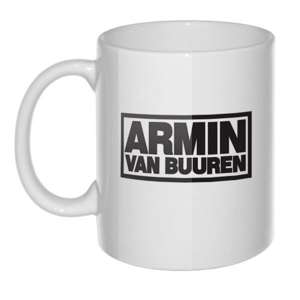 Кружка Armin van Buuren, цвет белый