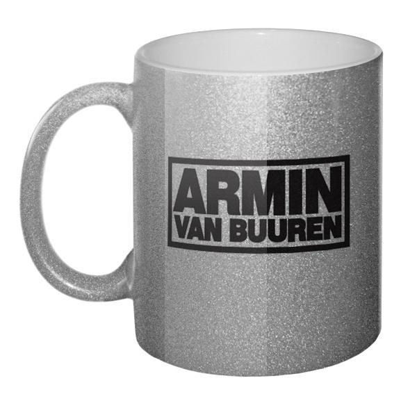 Кружка блестящая Armin van Buuren