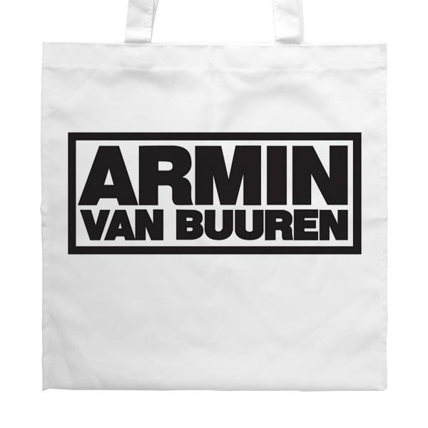 Белая сумка Armin van Buuren
