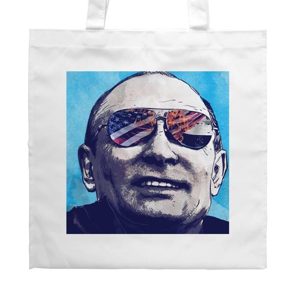 Белая сумка Путин