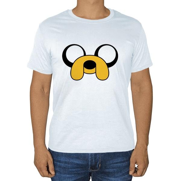 Пёс Джейк, белая футболка