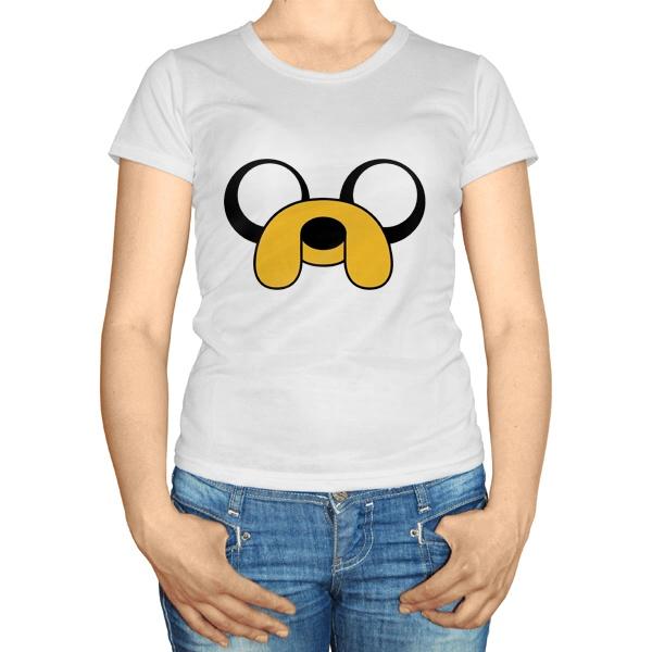 Женская футболка Пёс Джейк