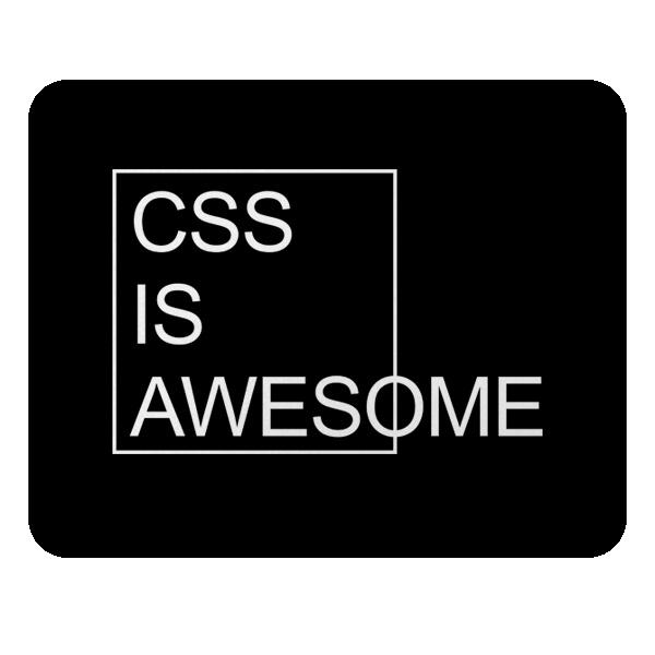 CSS is awesome, коврик для мыши прямоугольный