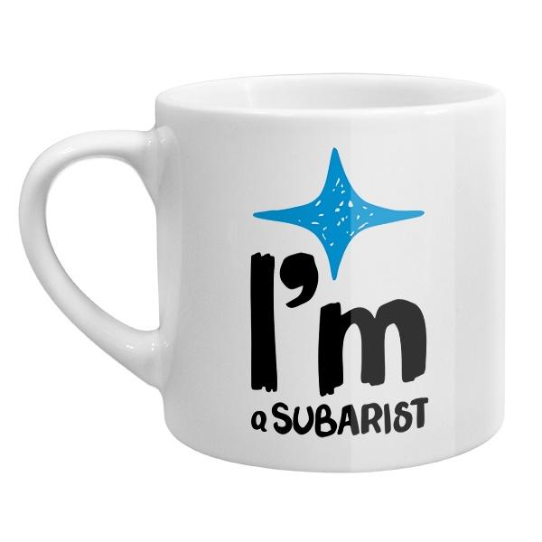 Кофейная чашка I am Subarist