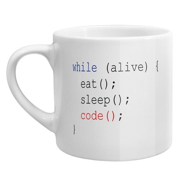 Кофейная чашка Программисту