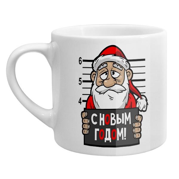 Кофейная чашка Арестованный Дед Мороз